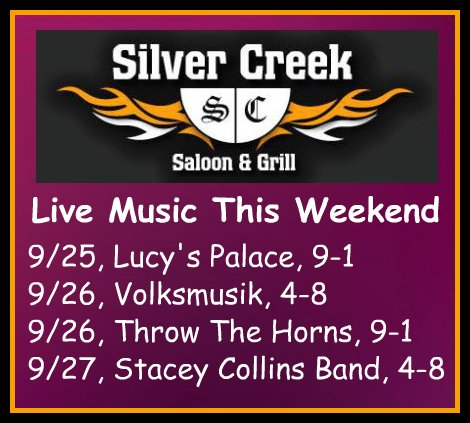 Silver Creek Poster 9-25 thru 9-27-15