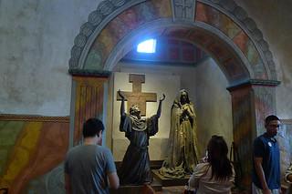 Santa Barbara - Santa Barbara Mission statues