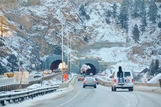 Twin Tunnels I-70