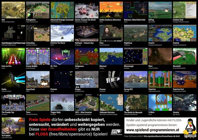 free games brochure poster, v 0.1