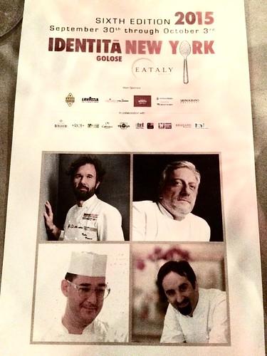 Identitá New York Gala Dinner