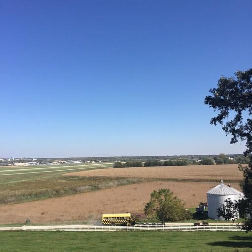 #Iowa #farm life || #latergram #Americanlife #schoolbus #autumn #fall