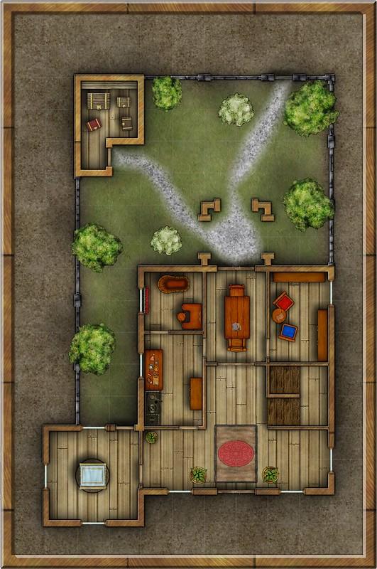 Foxglove Townhouse Main Level