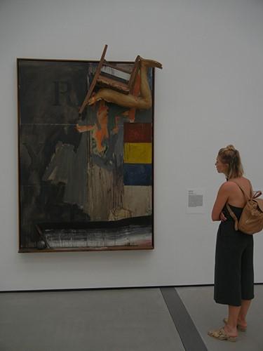 DSCN0332 _ Watchman, 1964, Jasper Johns, Broad Museum, LA