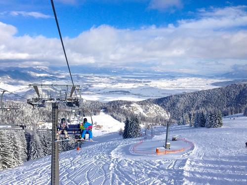 Panoramatické lyžování v RUŽOMBEROKU na Malině Brdu s 32% slevou