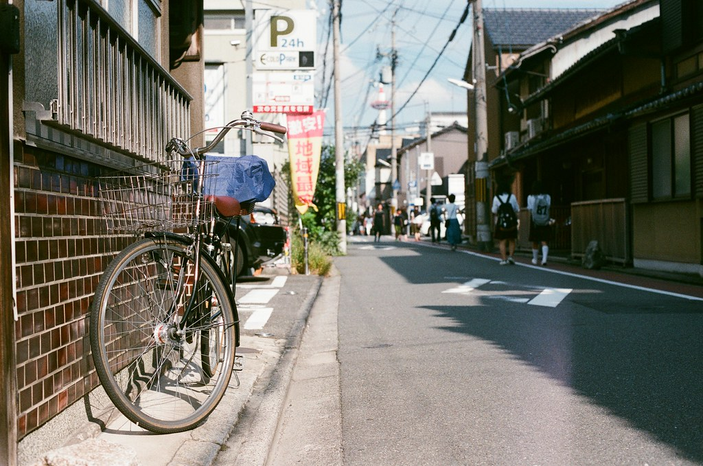 京都 Kyoto 2015/09/23 從這條巷子走回去京都車站。  Nikon FM2 Nikon AI Nikkor 50mm f/1.4S AGFA VISTAPlus ISO400 0947-0030 Photo by Toomore