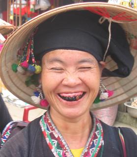 Vietnam Sa Pa Woman & Teeth