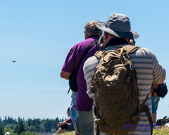 A Historic Flight Foundation Crowd Taking In Paine Field Flight Ops