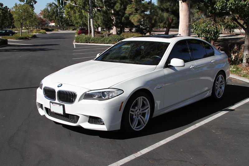 2013 bmw 535i white