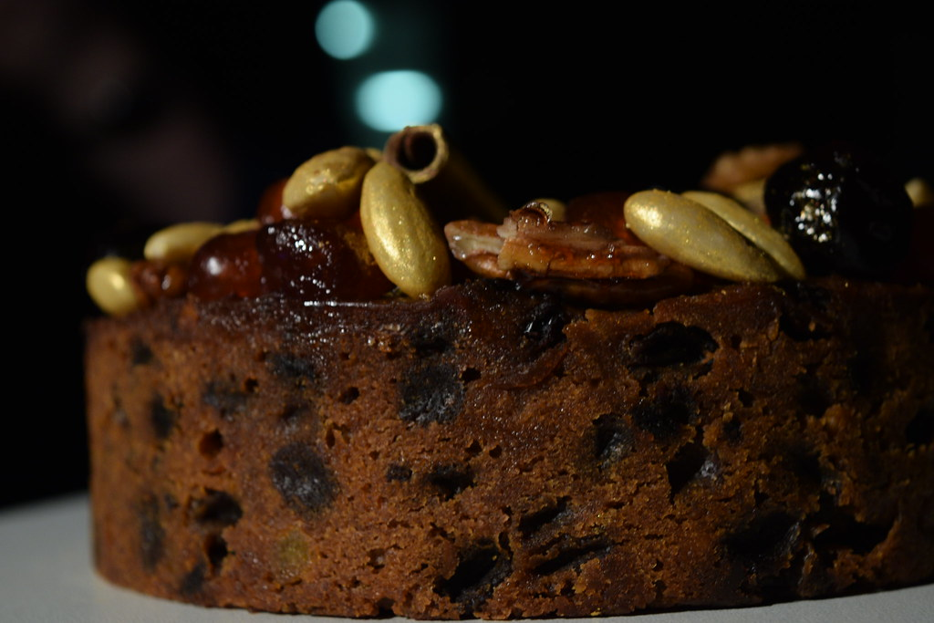 Curry's Food Photography: Fruit Cake