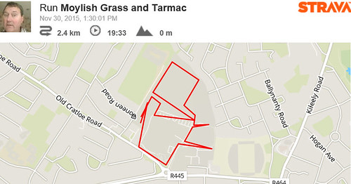 Strava Run by @topgold