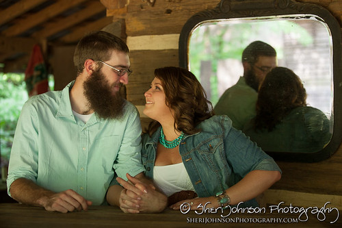 Leah & Nick Country Engagement Photos
