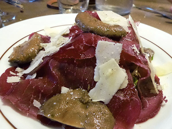 bresaola te  sanguins