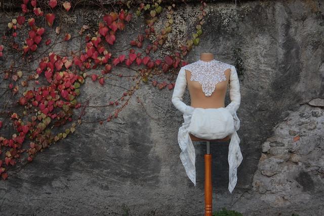 Accessoires pour mariée d'hiver