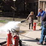 Fire Extinguisher Training, Staff and Faculty