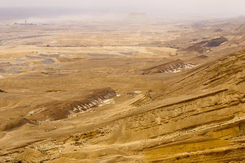 israel sand desert valley negev tal wüste