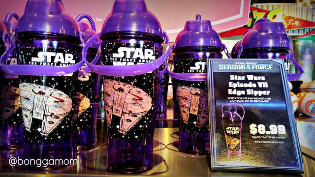 Star Wars purple sipper