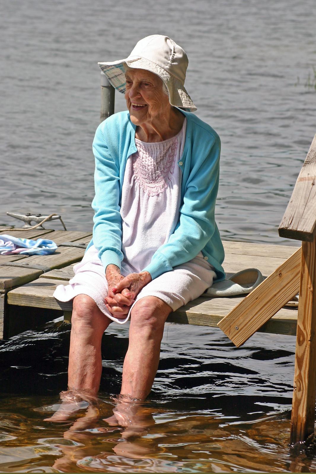 Lillian at Coffee Pond