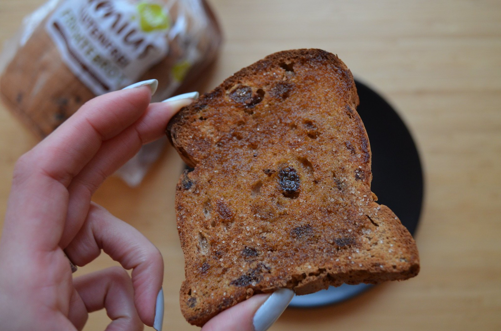 Genius Gluten Free bread in Germany review Fruechtebrot cinnamon toast