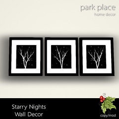 [Park Place] Starry Nights Wall Decor
