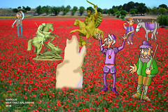 santos en campos manchegos