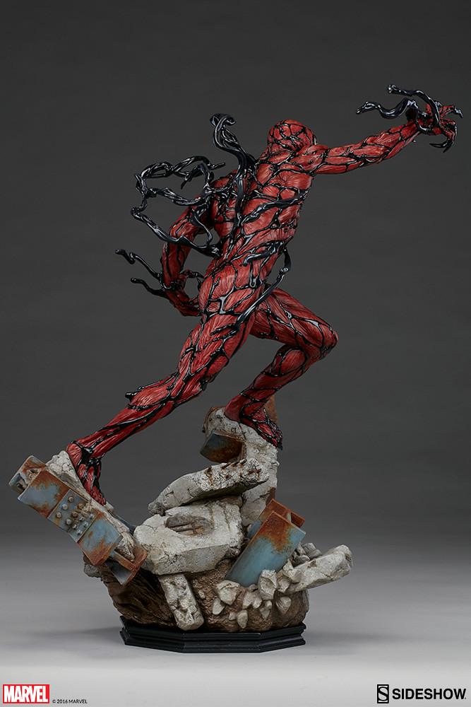Sideshow Collectibles【血蜘蛛】Carnage 1/4 比例全身雕像作品【完整官圖、販售資訊更新】