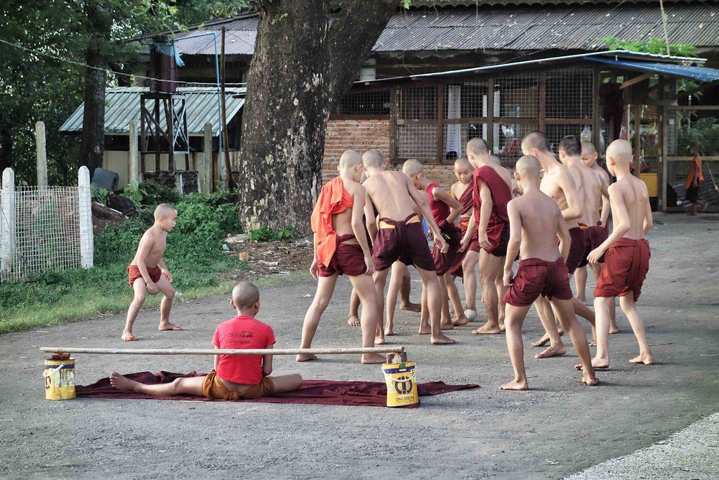 Myanmar - Mawlamyine Monks