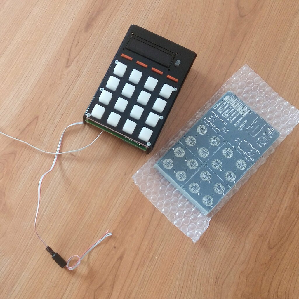 First version of physical modular prototype