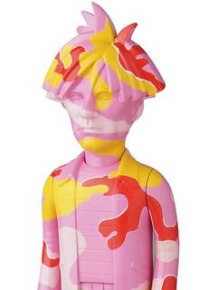 MEDICOM TOY VCD 系列【粉紅迷彩安迪.沃荷】Andy Warhol Camo Ver. No.268