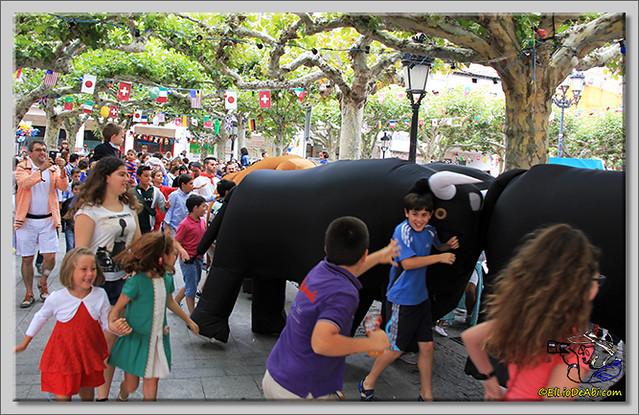 Briviesca en Fiestas 2.015 Segundo encierro Sopas de ajo y encierro infantil (20)