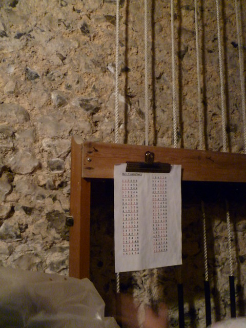 How to ring the bells, St Mary Magdalene, Cobham