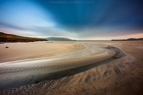 longexposure morning sea seascape motion colour beach water clouds sunrise canon landscape eos bay coast scotland movement lowlight sand scenery cloudy outdoor north shoreline scenic wideangle august burn shore northsea land coastline ripples lowtide fullframe dslr sutherland peninsula durness capewrath balnakeil 2015 ef1740 5dmkii 1000xstopfilter