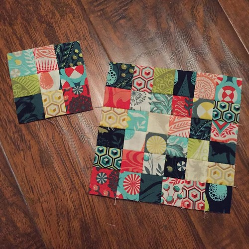 230:365 Itty bitty patchwork fun.