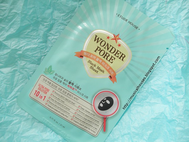 Etude House Wonder Pore Black Mask