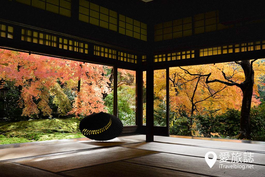 京都赏枫景点 琉璃光院 32