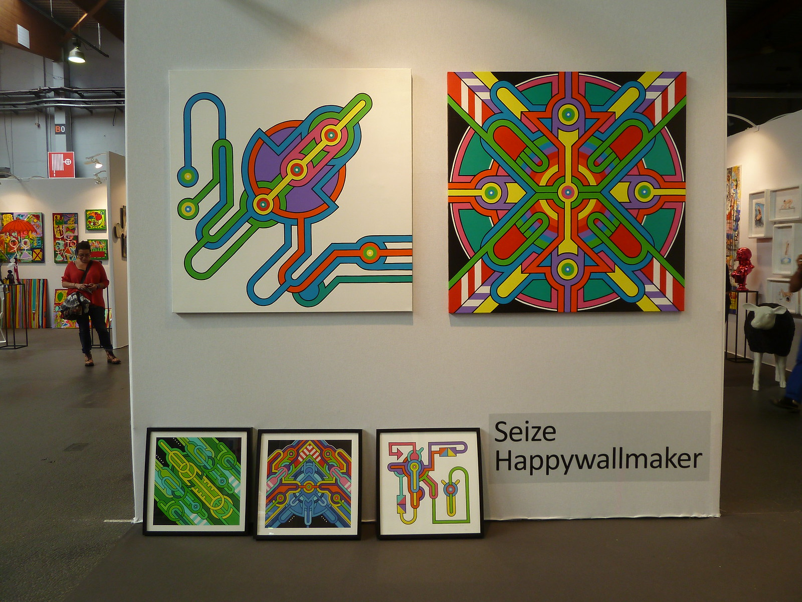 Seize happywallmaker archive for mandala - Salon art contemporain ...