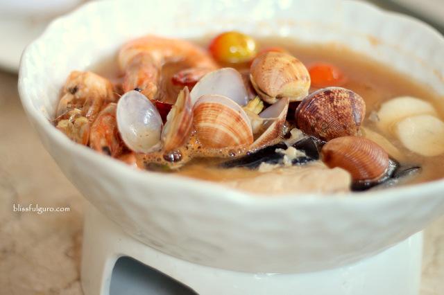 Kabila Filipino Bistro Makati City Seafood Guava Sinigang