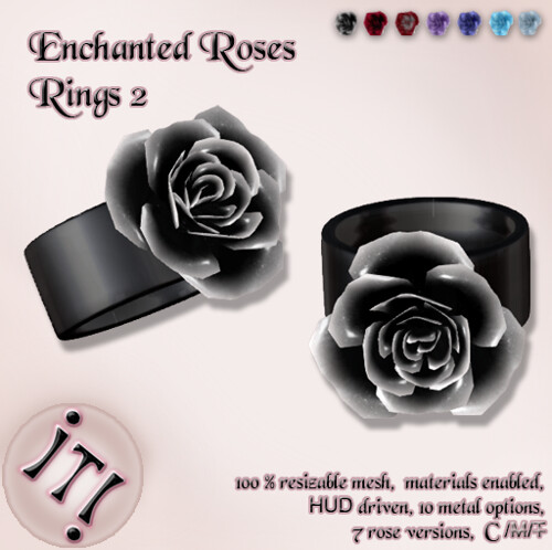 !IT! - Enchanted Roses Rings 2 Image