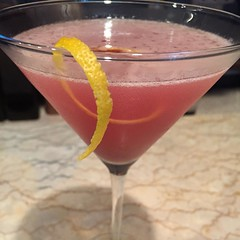 A new favorite! Bombay Sapphire, the juice from one lemon and a splash of Chambord. Not a bad drink to sip after working on two letters of intent! Cheers! Inspired by Old Vines Wine Bar in #kennebunkport #maine ! #cocktails #cocktailsofinstagram #igersmai