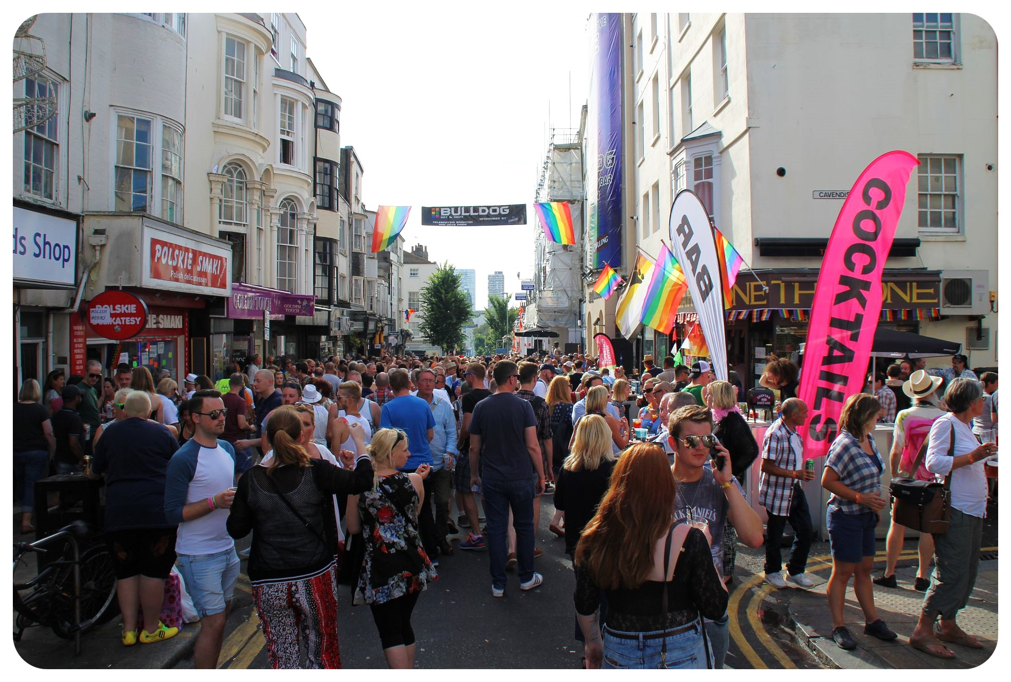 brighton pride 2015 street party