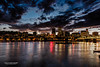 PDX Waterfront at Dusk by R. Kent Squires