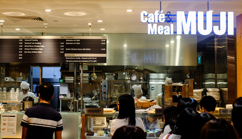 MUJI Café & Meal Sign