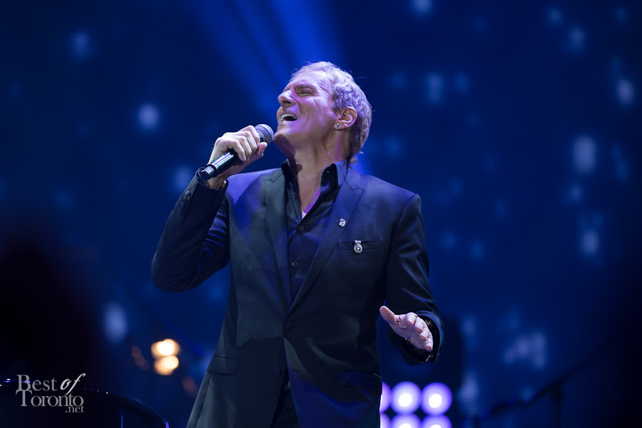 Without giving you a chance to brace yourself, Michael Bolton sang