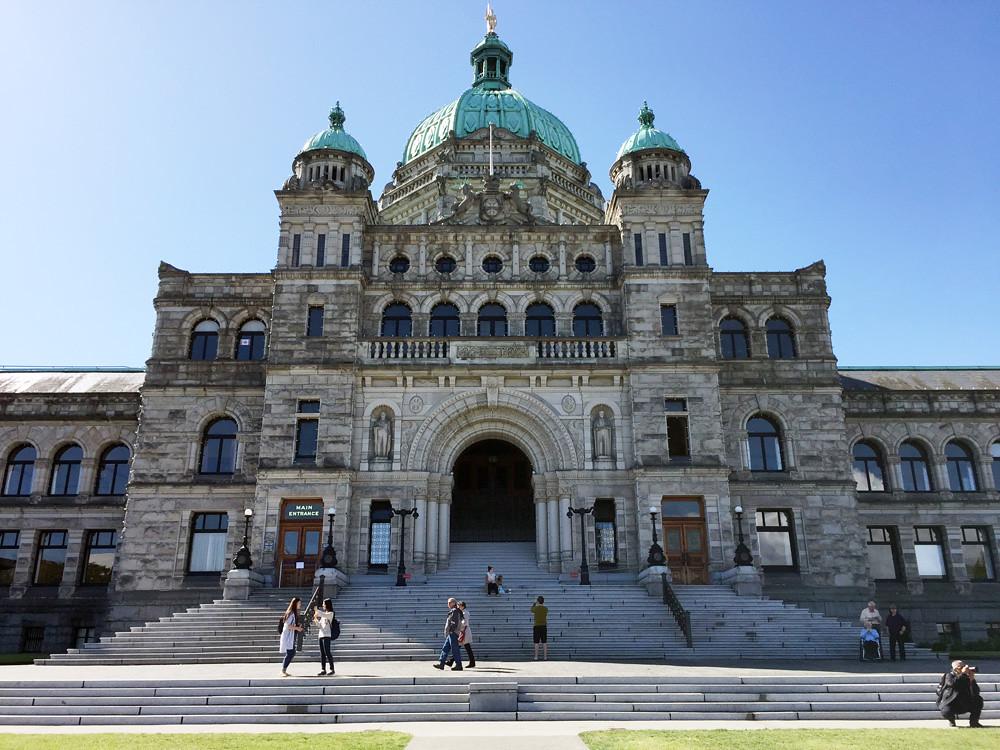 British Columbia Parliament Buildings 1