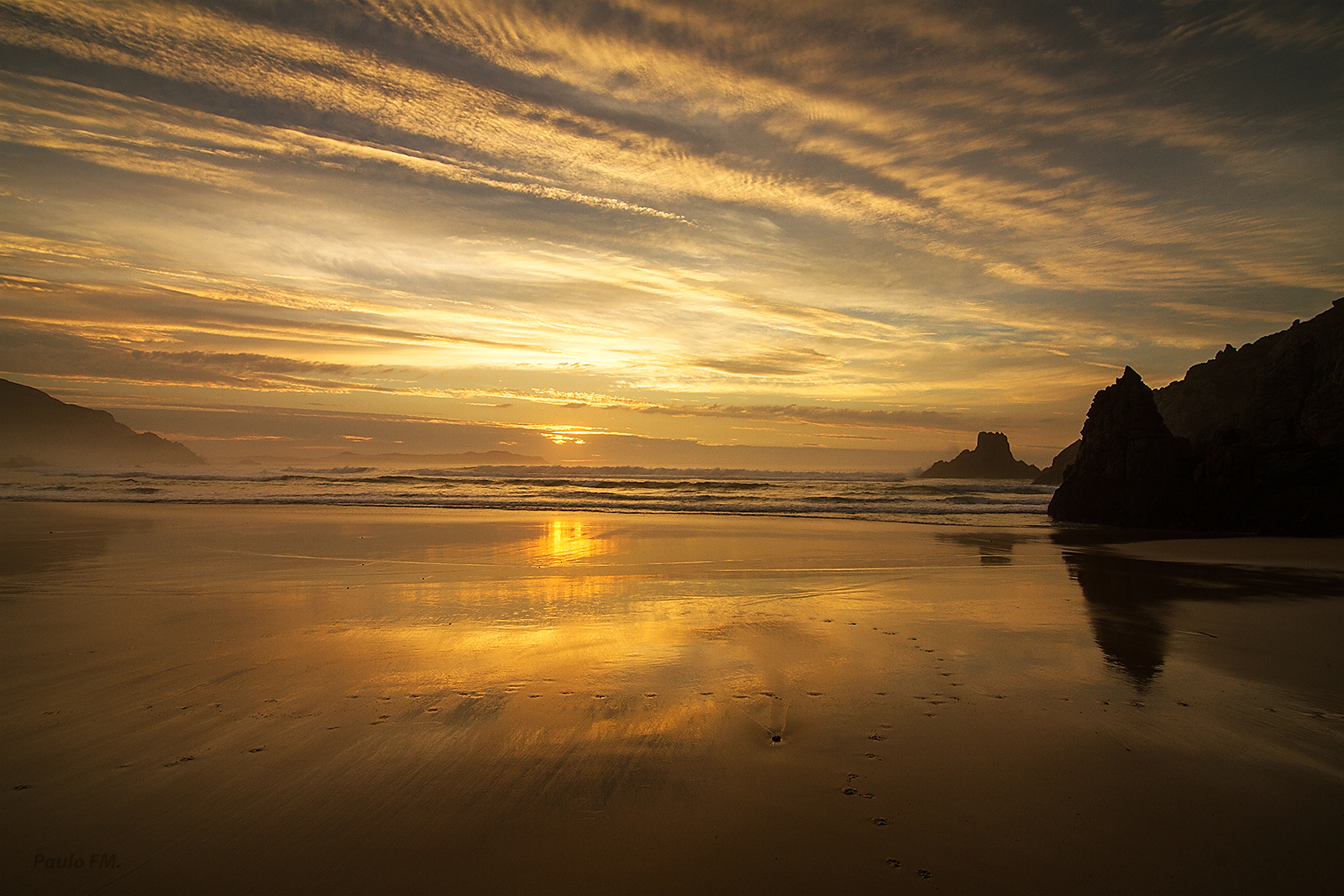 3643 - Campelo's beach - Valdoviño
