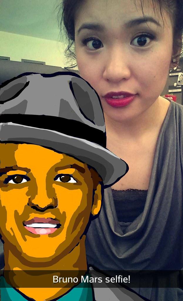 Was ist Bruno Mars Snapchat
