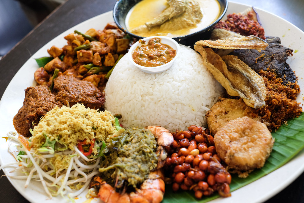 Pu3 Restaurant's nasi ambeng sahan set