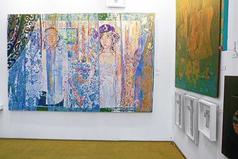 Manilart2015 'Wedding' (Oil on Canvas) by Amy Aragon