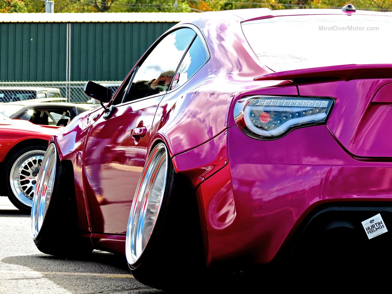 First Class Fitment Pink Scion FR-S