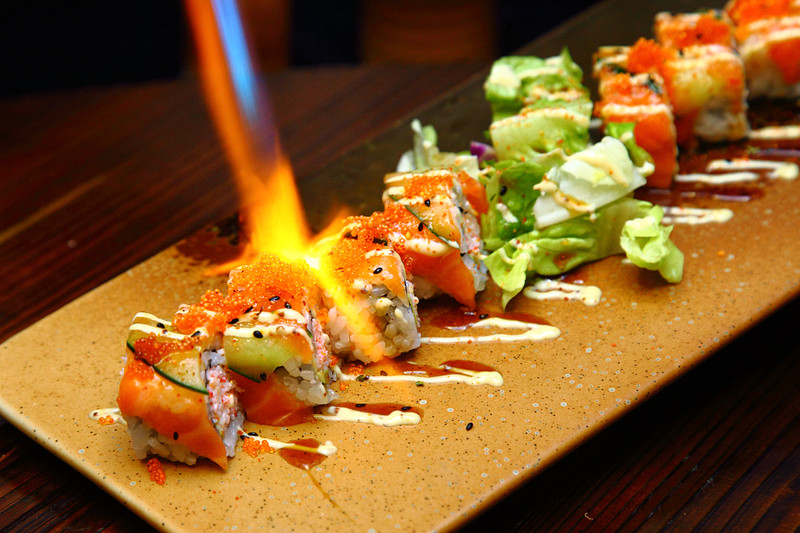 Torching-Sushi-Roll
